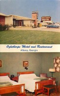 258733-Georgia, Albany, Oglethorpe Motel & Restaurant, Interior & Exterior Views, James J Gillick - Albany