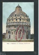 L2174 - PISE - PISA Il Battislero O S. Giovanni - Italie - Pisa