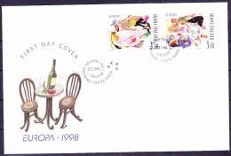 Finnland Finland Finlande - Europa (MiNr: 1432/3) 1998 - FDC - 1998