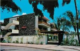 258785-Hawaii, Honolulu, White Sands Waikiki Hotel Apartment, Curteichcolor No 9C-K474 - Honolulu