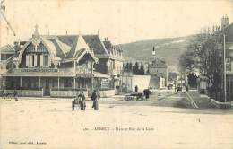 74 - ANNECY - PLACE ET RUE DE LA GARE - Annecy