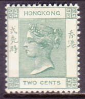 HONG KONG 1900 SG #56 2c MH CV £28 Dull Green - Hong Kong (...-1997)