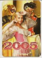 Pocket Calendars  Russia - 2005 - Girl - Actress - Movie - Fashion - Advertising - Calendarios