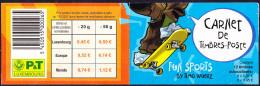 Luxemburg Luxembourg - FUN - Sport (Mi.Nr. MH 1564/9) 2002 - Postfrisch MNH - Carnets