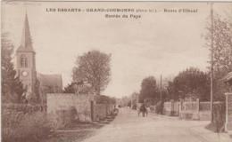 551512-76- LES ESSARTS GRAND COURONNE Route D'Elbeuf - Entrée Du Pays - Francia