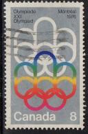 PIA - CANADA - 1973 :  Olimpiadi Di Montreal  - (Yv   506) - Estate 1976: Montreal