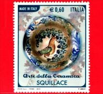 ITALIA - Usato - 2012 - Made In Italy: Arte Della Ceramica - 0,60 € • Squillace - 2011-...: Usati