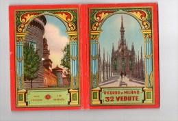 RICORDO DE MILANO)  VINGT HUIT PHOTOS-TEXTE EXPLICATIF -PLAN DE LA VILLE -SUPERBE COUVERTURE TBE - Livres, BD, Revues