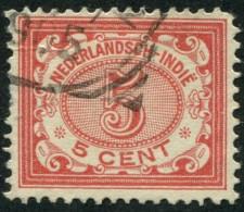 Pays : 232 (Inde Néerlandaise : Colonie Néerlandaise)  Yvert Et Tellier N° :   46 (o) - Netherlands Indies