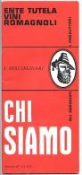 1970 -  ENTE TUTELA VINI ROMAGNOLI - Grande Libretto Con Elenco Produttori Ed Etichette Situazione A Giugno 1970 - Alcolici