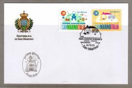 FDC SAN MARINO NASCITA SM-ITALIA PARCO SCIENTIFICO TECNOLOGICO - Emisiones Comunes