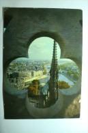 D 75 - Paris - Vu Des Tours De Notre Dame - Notre Dame De Paris