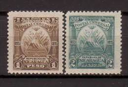 Nicaragua , 1895 , Mi.Nr. 76 / 77 * Gefalzt - Nicaragua