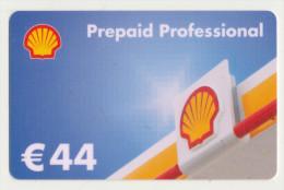 Shell 44 € Geschenkkarte / Giftcard  -  Gebraucht / Leer  !!!!! ( 233 ) - Gift Cards