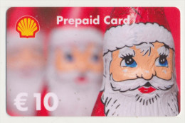 Shell 10 € Geschenkkarte / Giftcard   -  Gebraucht / Leer  !!!!! ( 234 ) - Gift Cards