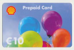 Shell 10 € Geschenkkarte / Giftcard   -  Gebraucht / Leer  !!!!! ( 235 ) - Gift Cards
