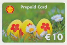 Shell 10 € Geschenkkarte / Giftcard   -  Gebraucht / Leer  !!!!! ( 236 ) - Gift Cards