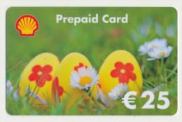 Shell 25 € Geschenkkarte / Giftcard   -  Gebraucht / Leer  !!!!! ( 237 ) - Gift Cards