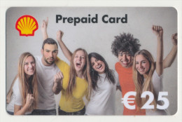 Shell 25 € Geschenkkarte / Giftcard   -  Gebraucht / Leer  !!!!! ( 238 ) - Gift Cards