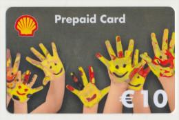 Shell 10 € Geschenkkarte / Giftcard   -  Gebraucht / Leer  !!!!! ( 240 ) - Gift Cards