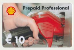 Shell 10 € Geschenkkarte / Giftcard   -  Gebraucht / Leer  !!!!! ( 241 ) - Gift Cards