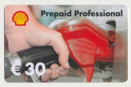 Shell 30 € Geschenkkarte / Giftcard   -  Gebraucht / Leer  !!!!! ( 242 ) - Gift Cards