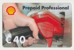 Shell 40 € Geschenkkarte / Giftcard   -  Gebraucht / Leer  !!!!! ( 243 ) - Gift Cards