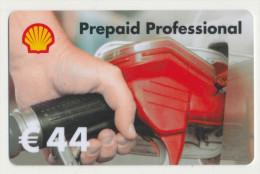 Shell 44 € Geschenkkarte / Giftcard   -  Gebraucht / Leer  !!!!! ( 244 ) - Gift Cards