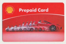 Shell  Geschenkkarte / Giftcard - Ohne Wertaufdruck  -  Gebraucht / Leer  !!!!! ( 245 ) - Gift Cards