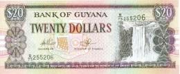 Billet Guyana 20 Dollars NEUF - Guyana