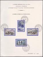 France 1970 Y&T 1603, 1605 Carte Spéciale, Base Aérienne De Toul-Rosières. Soldats, Parachutisme, Avions - Airplanes