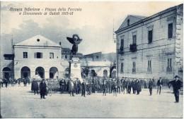 Campania-salerno-nocera Inferiore Stazione Ferroviaria Piazza Monumento Ai Caduti Animatissima - Italia