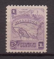 Nicaragua , 1896 , Mi.Nr. 80 X * Gefalzt - Nicaragua