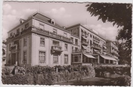 Allemagne :  Baden  Baden :  Vue Hotel   Europaischer  Hof - Ohne Zuordnung