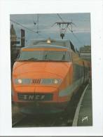TGV TRAIN A GRANDE VITESSE DE LA SNCF 84 RECORD DU MONDE DE VITESSE SUR RAIL 380 KM/H LE 26/2/1981 - Trains