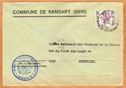 Enveloppe Brief Cover Commune De Ransart - België