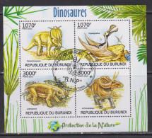 Burundi 2012 Fauna, Dinosaurs - Burundi