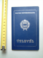 +++ Hungary - Passport Passeport 1987 Blue Nk - Documenti Storici