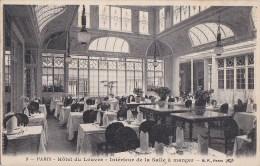PARIS 1er Grand HOTEL Du LOUVRE Place Du Théatre Français Intèrieur SALLE à MANGER Sous La Verrière - District 01