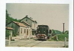 TRAIN EN GARE DE PONT DE CHERUY (38) 2 1981 - Pont-de-Chéruy