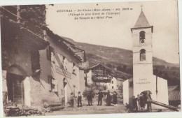 05 Queyras Saint Veran Le Temple Et L Hotel - France
