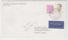 GOOD BELGIUM Postal Cover 1990 - Good Stamped: King - Belgium