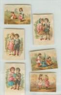 CHROMOS - DECOUPIS - IMAGES  - ENFANTS - Trade Cards