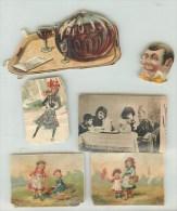 CHROMOS - DECOUPIS - IMAGES  - DIVERS - ENFANTS - Trade Cards
