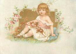 CHROMO - IMAGE DOREE - ENFANT - Trade Cards
