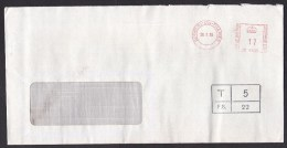 UK: Cover, 1985, Meter Cancel, Sunbury-on-Thames, Postage Due Cancel, Taxed, To Pay (minor Discolouring) - 1952-.... (Elizabeth II)