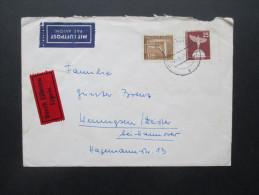 Berlin 1961 MiF Luftpostbeleg / Durch Eilboten Expres. Berlin Grunewald Nach Wennigsten Deister - Berlin (West)