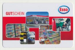 Esso  Geschenkkarte/Giftcard -  Gebraucht / Leer  !!!!! ( 263 ) - Gift Cards