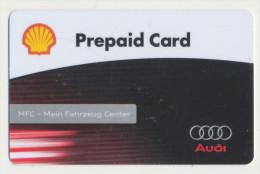 Shell  Geschenkkarte/Giftcard - Audi -   Gebraucht / Leer  !!!!! ( 264 ) - Gift Cards