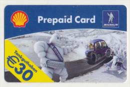 Shell - 30 € - Geschenkkarte/Giftcard - Michelin -   Gebraucht / Leer  !!!!! ( 265 ) - Gift Cards